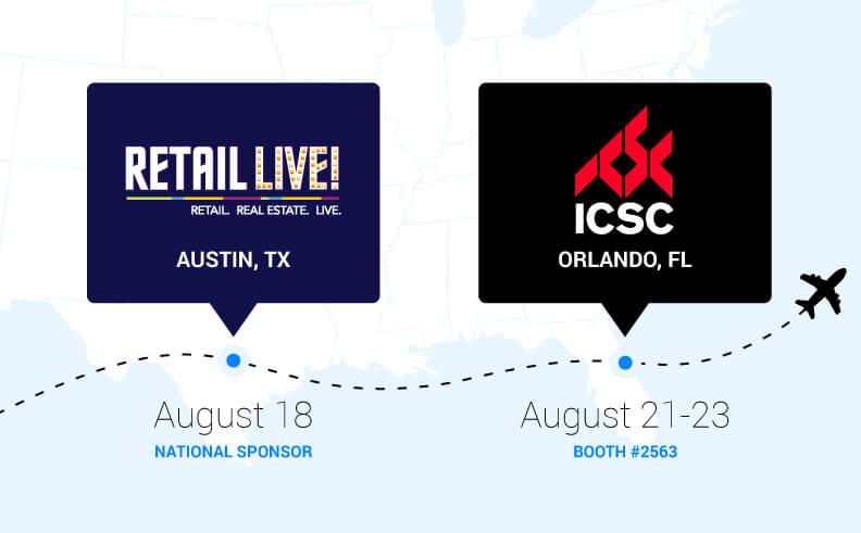 Retail Live! Austin & ICSC Orlando