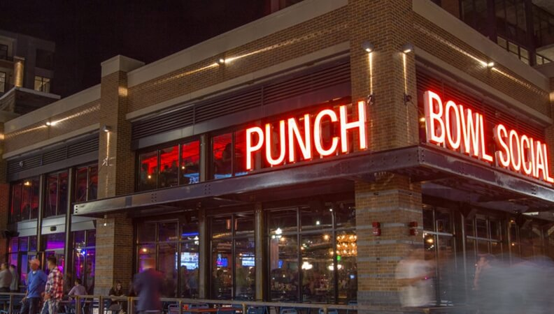 Punch Bowl Social party mecca uses SiteZeus in major expansion