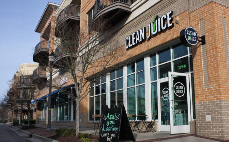 Clean Juice Bar teams with SiteZeus to spread healthy lifestyle