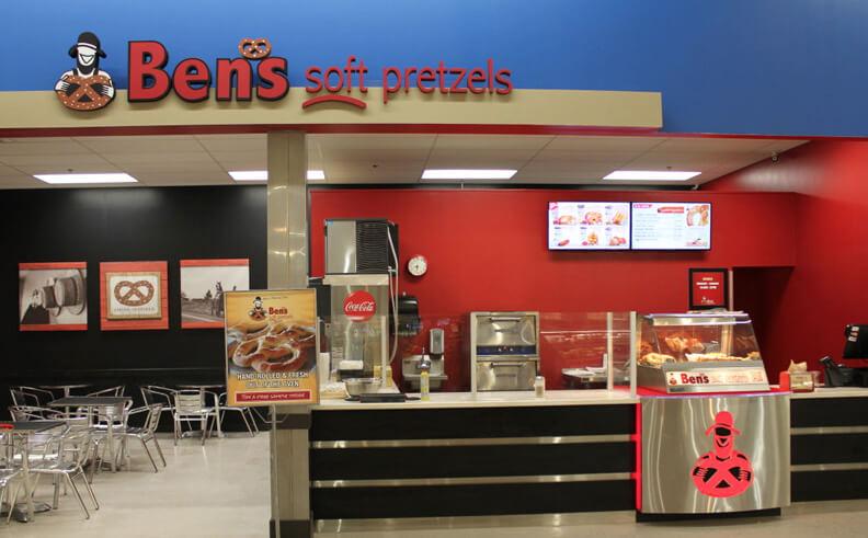 Ben's Soft Pretzels – the latest foodservice brand to choose SiteZeus