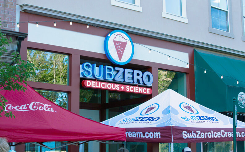 Sub Zero Ice Cream teams up with SiteZeus to expand its scientific sweets reach