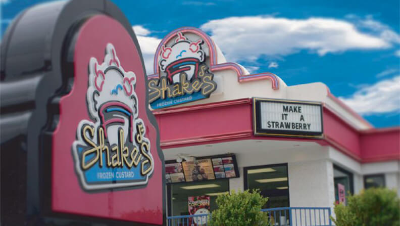 Shake's Frozen Custard sweetens their site selection with SiteZeus