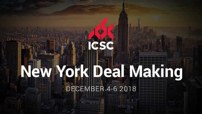 Join us at the upcoming ICSC Conference in New York City