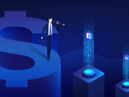 Can social media predict retail revenue?