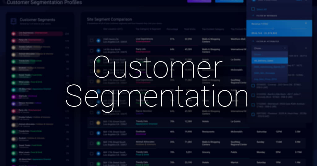 How Customer Segmentation can drive better location-based decision-making