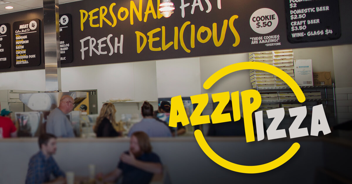 Azzip Pizza finds their customers with SiteZeus
