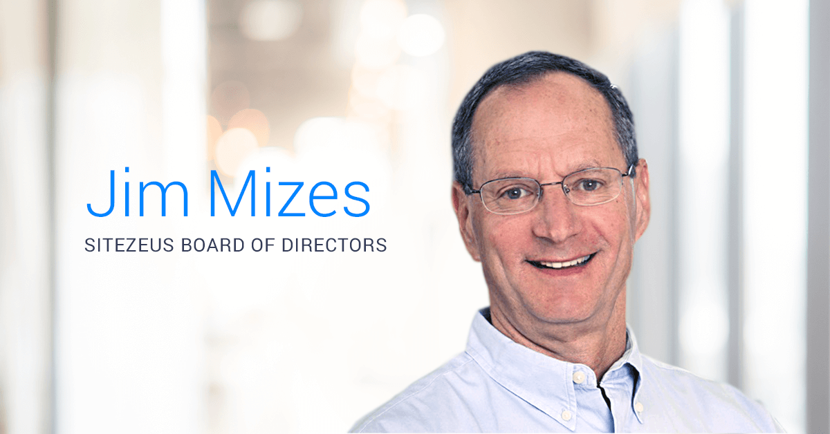 SiteZeus® names Jim Mizes, retired Blaze Pizza CEO, to its board of directors